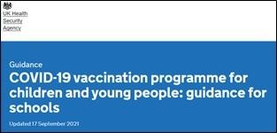 Covid 19 vaccination programme